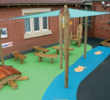 Safe & Fun surface, ideal for children's play of all needs and abilities.